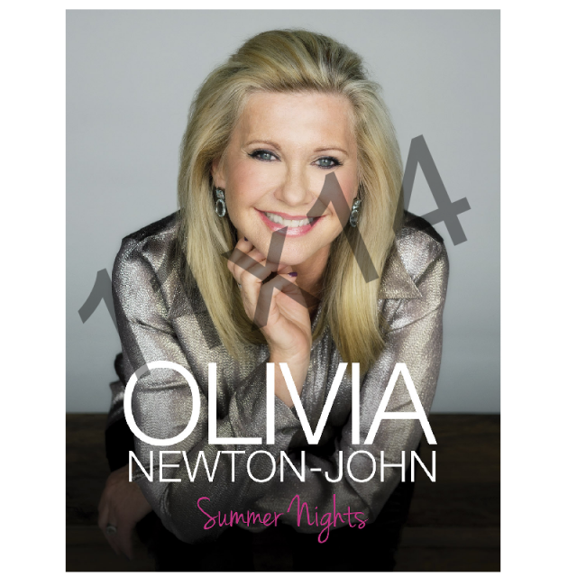 Olivia Newton-John Deluxe Tour Program- Summer Nights
