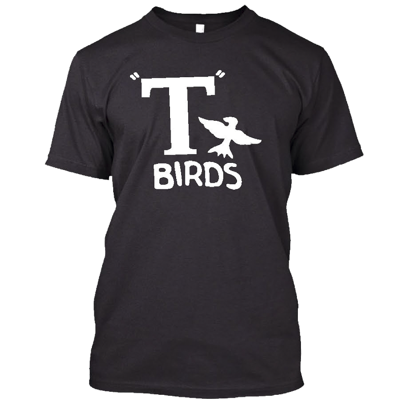 T Birds Black Tee
