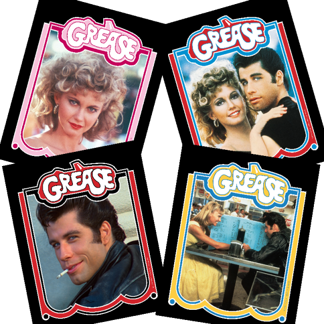 Grease Photo Set